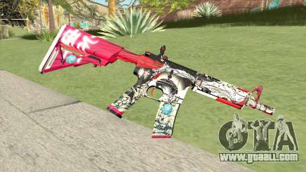 M4A1 (Graffiti) for GTA San Andreas