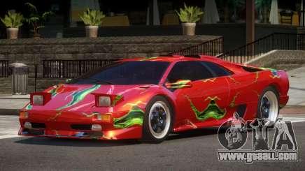 1995 Lamborghini Diablo SV PJ4 for GTA 4