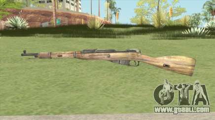 Mosin-Nagant M44 (Fog Of War) for GTA San Andreas