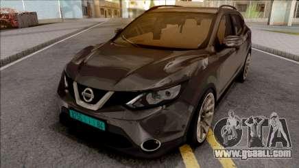 Nissan Qashqai IVF v2 for GTA San Andreas