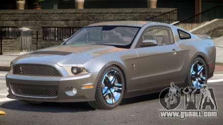 Shelby GT500 V8 PJ1 for GTA 4
