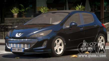 Peugeot 308 RS for GTA 4
