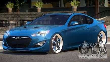 Hyundai Genesis Edit for GTA 4