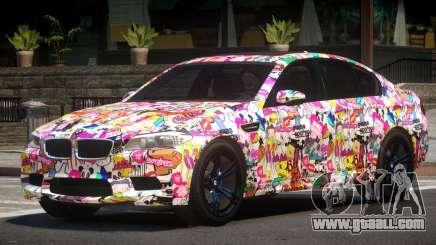 BMW M5 F10 RS PJ3 for GTA 4