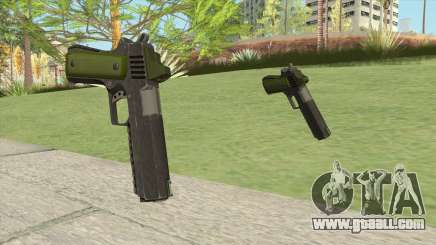 Heavy Pistol GTA V (Green) Base V1 for GTA San Andreas