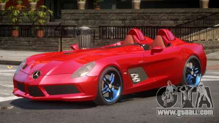 Mercedes Benz SLR R-Tuning for GTA 4