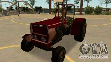Stanley Tractor Rusty With Badges & Extras for GTA San Andreas