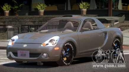 Toyota MRS2 Spyder PJ5 for GTA 4