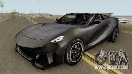 Sport Car (Free Fire) for GTA San Andreas