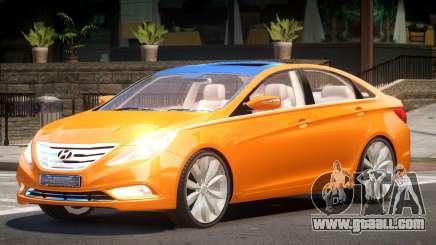 Hyundai Sonata Upd for GTA 4