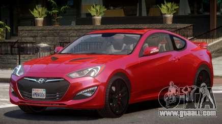 Hyundai Genesis RS for GTA 4