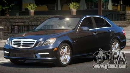 Mercedes Benz E63 Edit for GTA 4