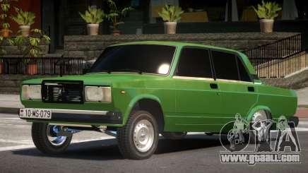 VAZ 2107 R-Tuned for GTA 4
