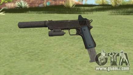 Heavy Pistol GTA V (LSPD) Full Attachments for GTA San Andreas