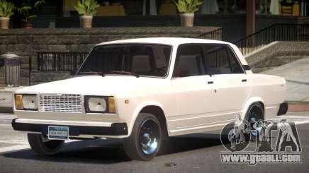 VAZ 2107 Stock V1.3 for GTA 4