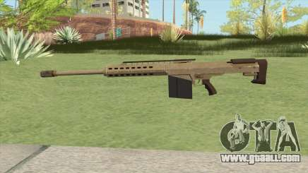 Heavy Sniper GTA V (Army) V2 for GTA San Andreas
