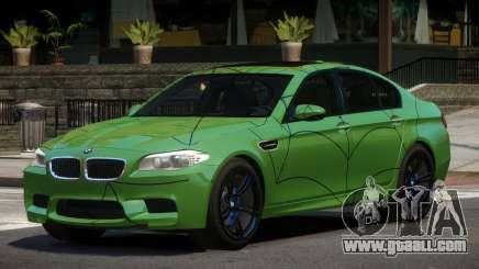 BMW M5 F10 LT PJ5 for GTA 4