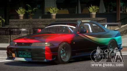 Nissan Skyline GT R33 SE PJ5 for GTA 4