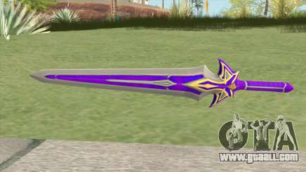 Purple Sword for GTA San Andreas
