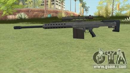 Heavy Sniper GTA V (LSPD) V1 for GTA San Andreas