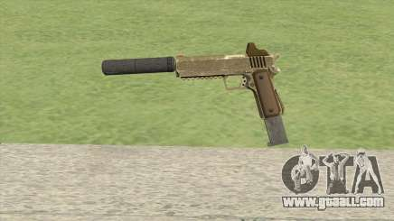 Heavy Pistol GTA V (Army) Suppressor V2 for GTA San Andreas