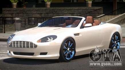 Aston Martin DB9 Spyder V1.0 for GTA 4