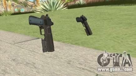 Heavy Pistol GTA V (LSPD) Flashlight V1 for GTA San Andreas