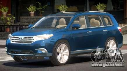 Toyota Highlander 4HD 1.6 for GTA 4