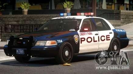 Ford Crown Victoria Police V2.3 for GTA 4
