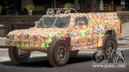 Hummer H3 Edit PJ5 for GTA 4