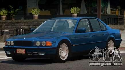1996 BMW 750i E38 for GTA 4