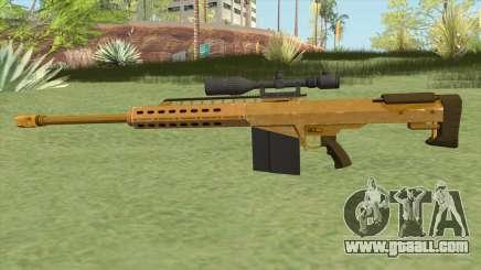 Heavy Sniper GTA V (Gold) V1 for GTA San Andreas