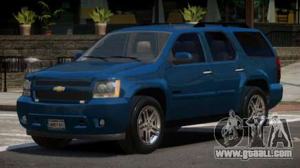 Chevrolet Tahoe Edit for GTA 4