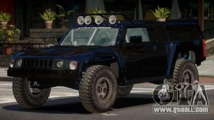 Hummer H3 Edit for GTA 4