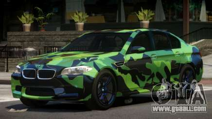 BMW M5 F10 LT PJ3 for GTA 4