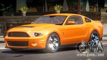 Shelby GT500 V8 for GTA 4
