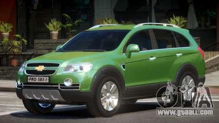 Chevrolet Captiva V1.3 for GTA 4