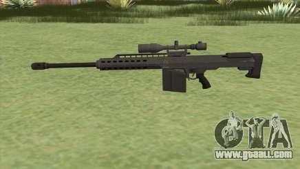 Heavy Sniper GTA V (Black) V1 for GTA San Andreas