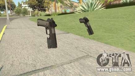 Heavy Pistol GTA V (NG Black) Flashlight V1 for GTA San Andreas