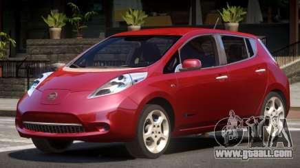 Nissan Leaf V1.0 for GTA 4