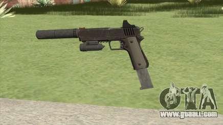 Heavy Pistol GTA V (NG Black) Full Attachments for GTA San Andreas