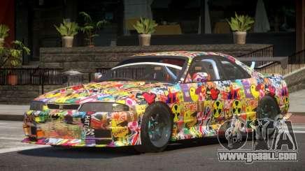 Nissan Skyline GT R33 SE PJ1 for GTA 4