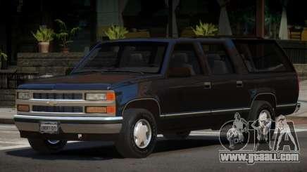 1998 Chevrolet Suburban for GTA 4