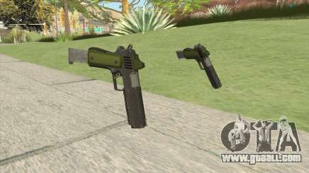 Heavy Pistol GTA V (Green) Base V2 for GTA San Andreas