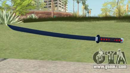 Nichirin Katana (Demon Slayer) for GTA San Andreas