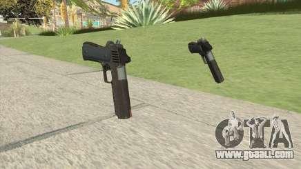 Heavy Pistol GTA V (OG Black) Base V1 for GTA San Andreas