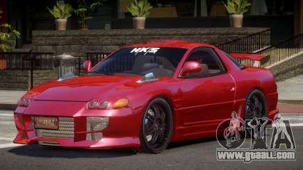 Mitsubishi 3000GT R-Tuning for GTA 4