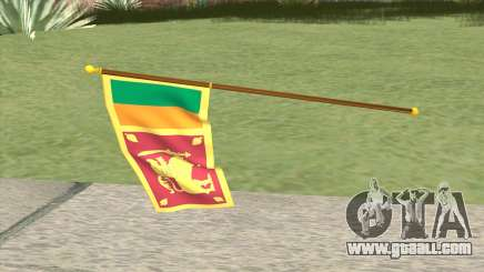 Flag Of Sri Lanka for GTA San Andreas