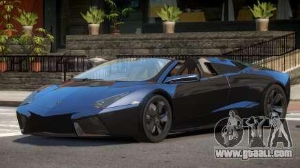 Lamborghini Reventon Spyder for GTA 4