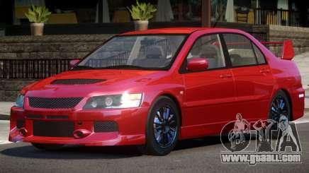 Mitsubishi Lancer Tuned for GTA 4